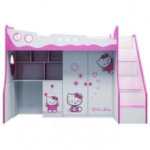 Giuong Tang Tre Em 3 Trong 1 Hello Kitty
